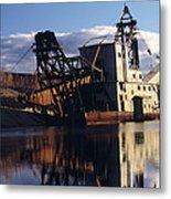 Chatanika Gold Dredge, Alaska Metal Print