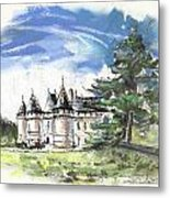 Chateau De Chaumont In France Metal Print