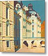 Chateau De Cheverny Metal Print by Georgia Fowler