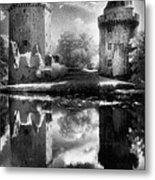Chateau De Largoet Metal Print