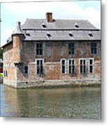 Chateau Feodal De Fernelmont Belgium Metal Print