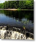 Chatfield Hollow Pond Metal Print