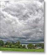 Chautauqua Lake Clouds 8625 Metal Print