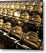 Cheap Seats Metal Print