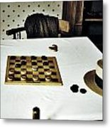 Check Mate Metal Print