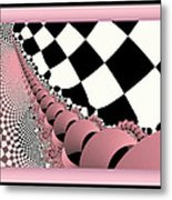 Checkers The Mouse Mechanical Tail Metal Print