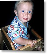 Cheeks Metal Print