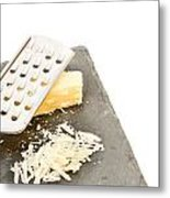 Cheese Grater Metal Print