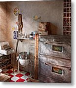 Chef - Baker - The Bread Oven Metal Print