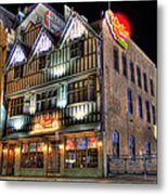 Cheli's Chili Bar Detroit Metal Print