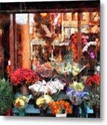 Chelsea Flower Shop Metal Print
