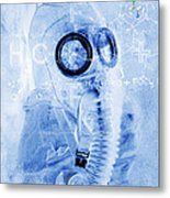 Chemical Warfare Metal Print