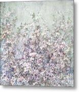 Cherry Blossom Grunge Metal Print