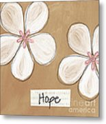 Cherry Blossom Hope Metal Print