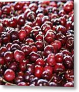 Cherry Metal Print by Francois Cartier