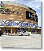 Chesapeake Arena Metal Print by Malania Hammer