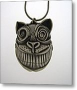 Cheshire Cat  Metal Print