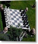 Chess At Large II Metal Print