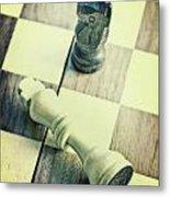 Chess Metal Print by Joana Kruse