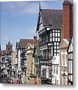 Chester City Centre Metal Print