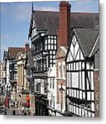 Chester City Skyline Metal Print