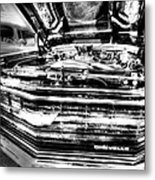 Chevelle - Black And White Metal Print