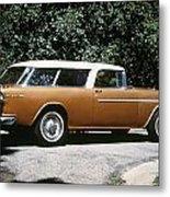 Chevrolet, 1957 Metal Print