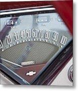 Chevrolet 3100 Truck Speedometer Metal Print