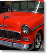 Chevrolet Bel-air Stationwagon . Orange . 7d15268 Metal Print