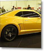 Chevrolet Camaro Bumblebee Metal Print