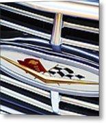 Chevrolet Emblem Metal Print