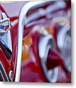 Chevrolet Impala Emblem Metal Print