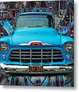 Chevrolet Pick Up Abstract Metal Print