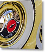 Chevrolet Tires Metal Print