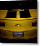 Chevy Camaro Covertible Rs Tail Metal Print