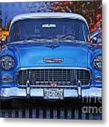 Chevy Front End Metal Print