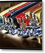 Chevy Line Up Metal Print