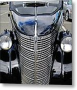 Chevy With Long Face Metal Print