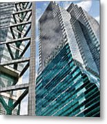 Chicago - A Sophisticated Finance Hub Metal Print by Christine Till