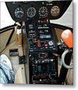 Chicago Airplanes 06 Metal Print