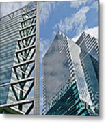 Chicago - City Of Big Shoulders Metal Print