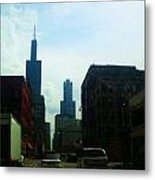Chicago Flow Metal Print