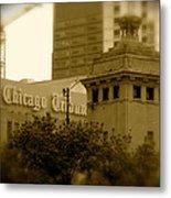 Chicago Impressions 7 Metal Print