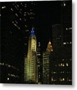 Chicago Old And New Metal Print