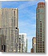 Chicago Panorama 1 Metal Print