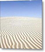 Chihuahuan Desert Dunes Metal Print