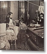 Child Abuse, From Caption Jimmie Metal Print