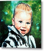 Child Portrait Metal Print