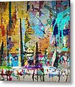 Child's Painting Easel Metal Print