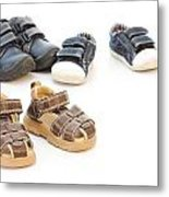 Childs Shoes Metal Print
